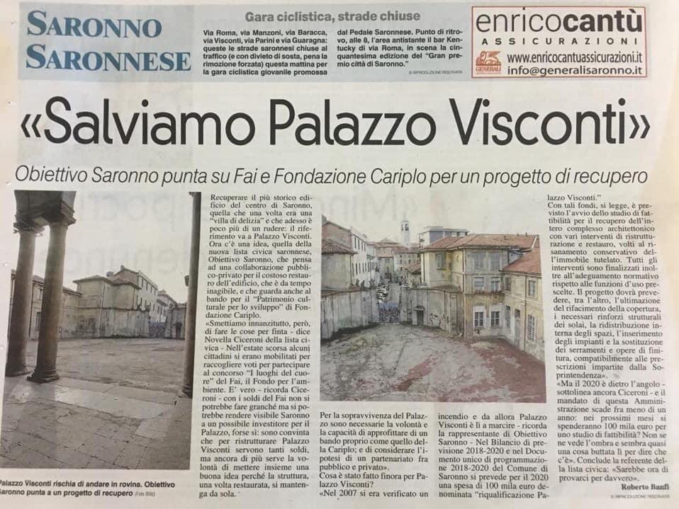 @La Prealpina__SALVIAMO PALAZZO VISCONTI
