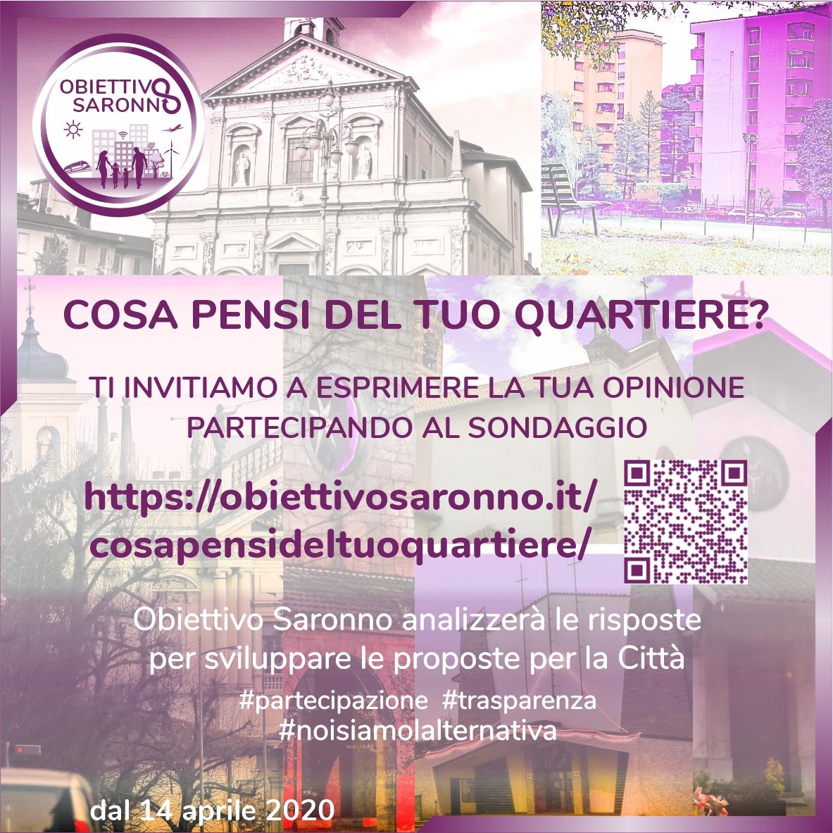 Online il sondaggio per raccogliere dai cittadini idee e proposte sulla città