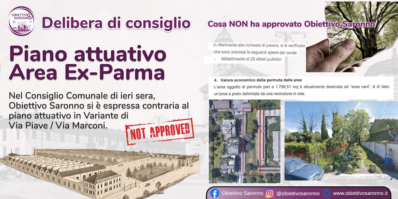 Piano attuativo area Ex-Parma