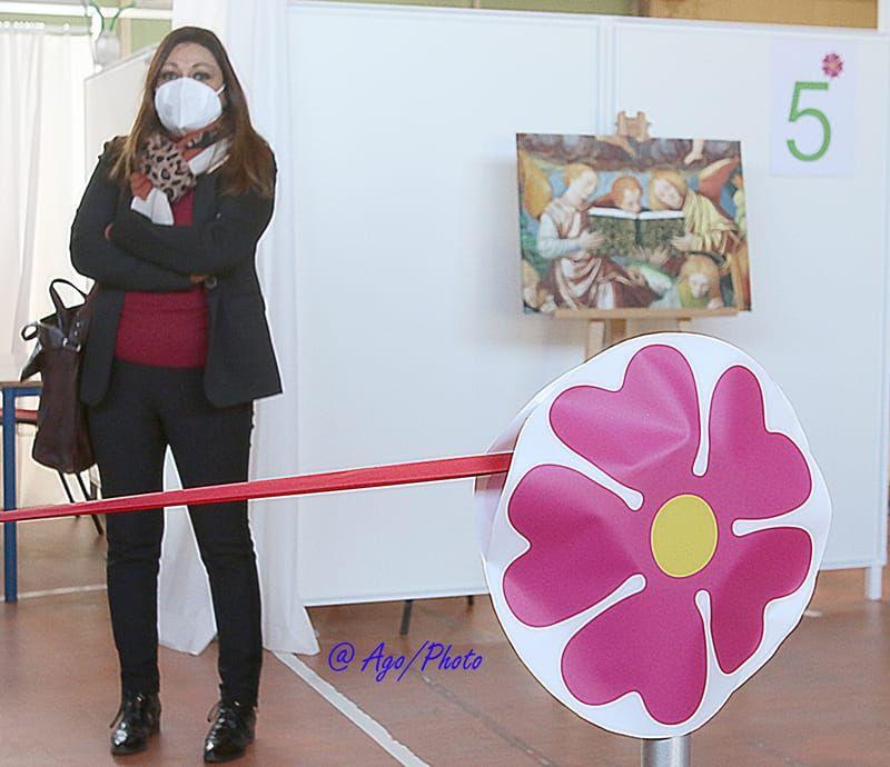 Inaugurazione centro vaccinazioni a Saronno