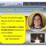 Novella Ciceroni in diretta all'Arena Bianco Celeste di Sara Giudici