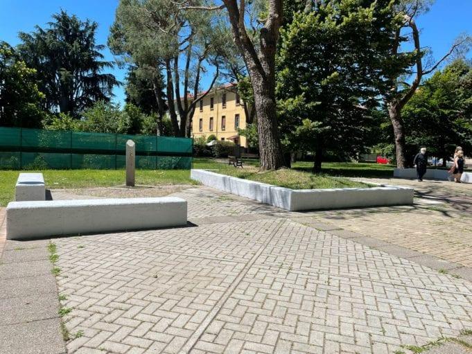 Con Fenice, il Matteotti riparte dal quadrato: con Letture e rinnovamento di pavimentazione e panchine